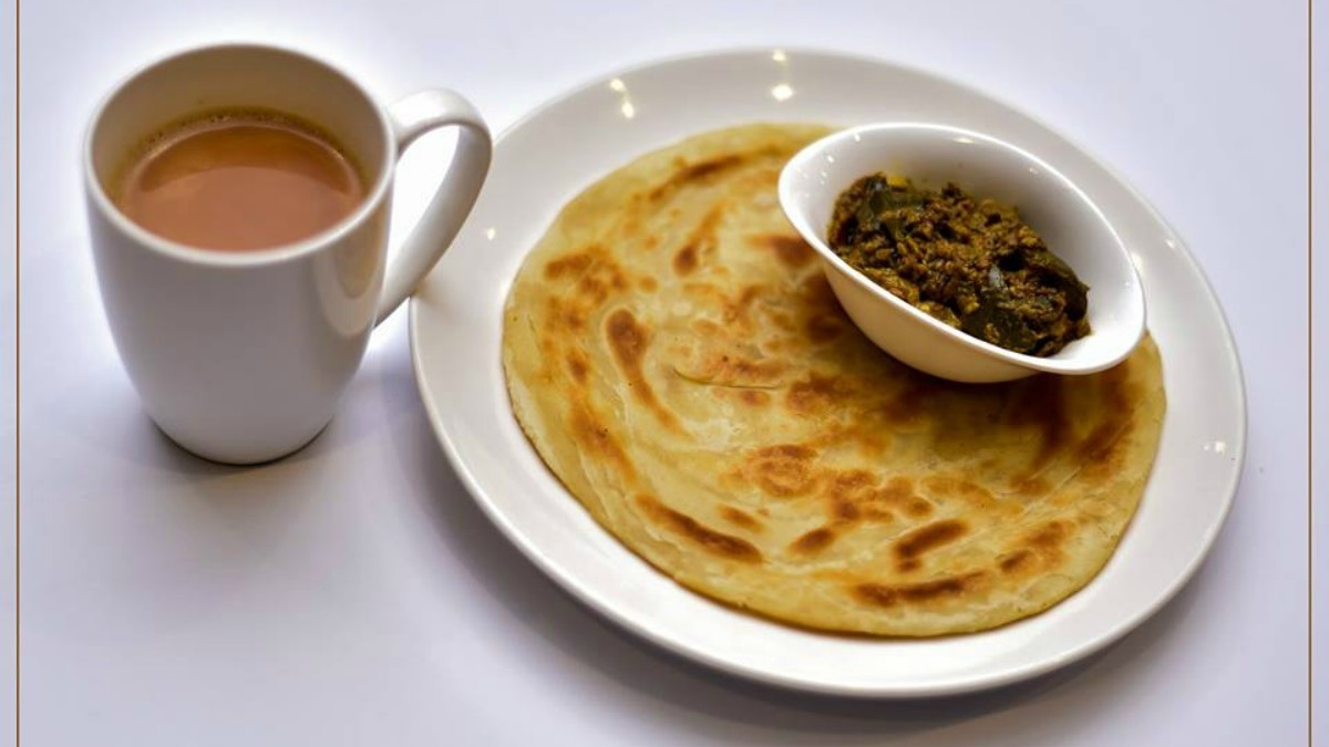 The breakfast menu includes desi breakfast items like a range of parathas - Photograph courtesy Baramda's Facebook page