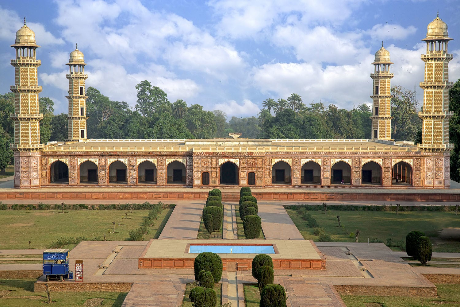 Tomb of Jahangir in Lahore. — Photo by Tahsin Shah