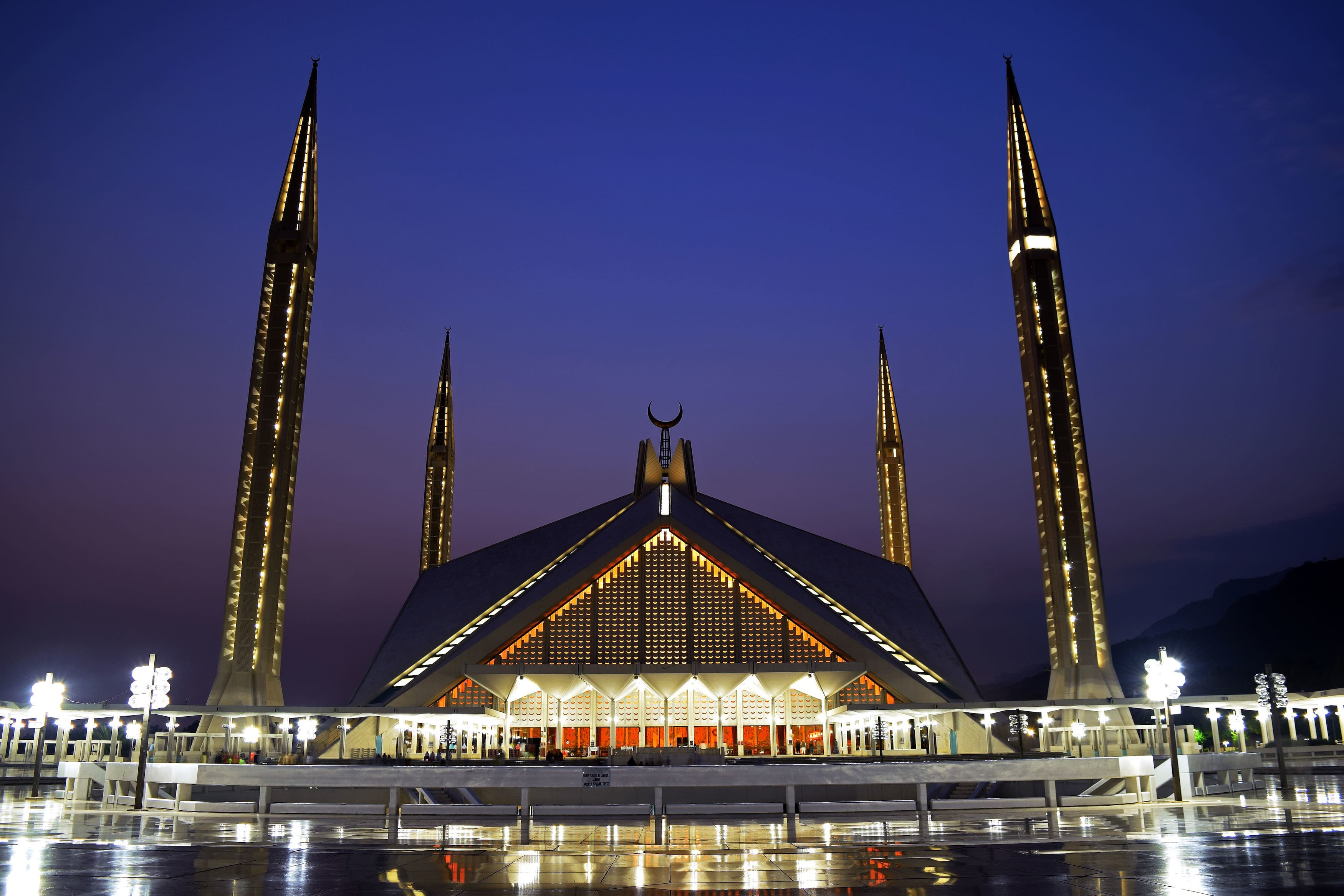 Faisal Mosque in Islamabad. — Photo by Ali Mujtaba