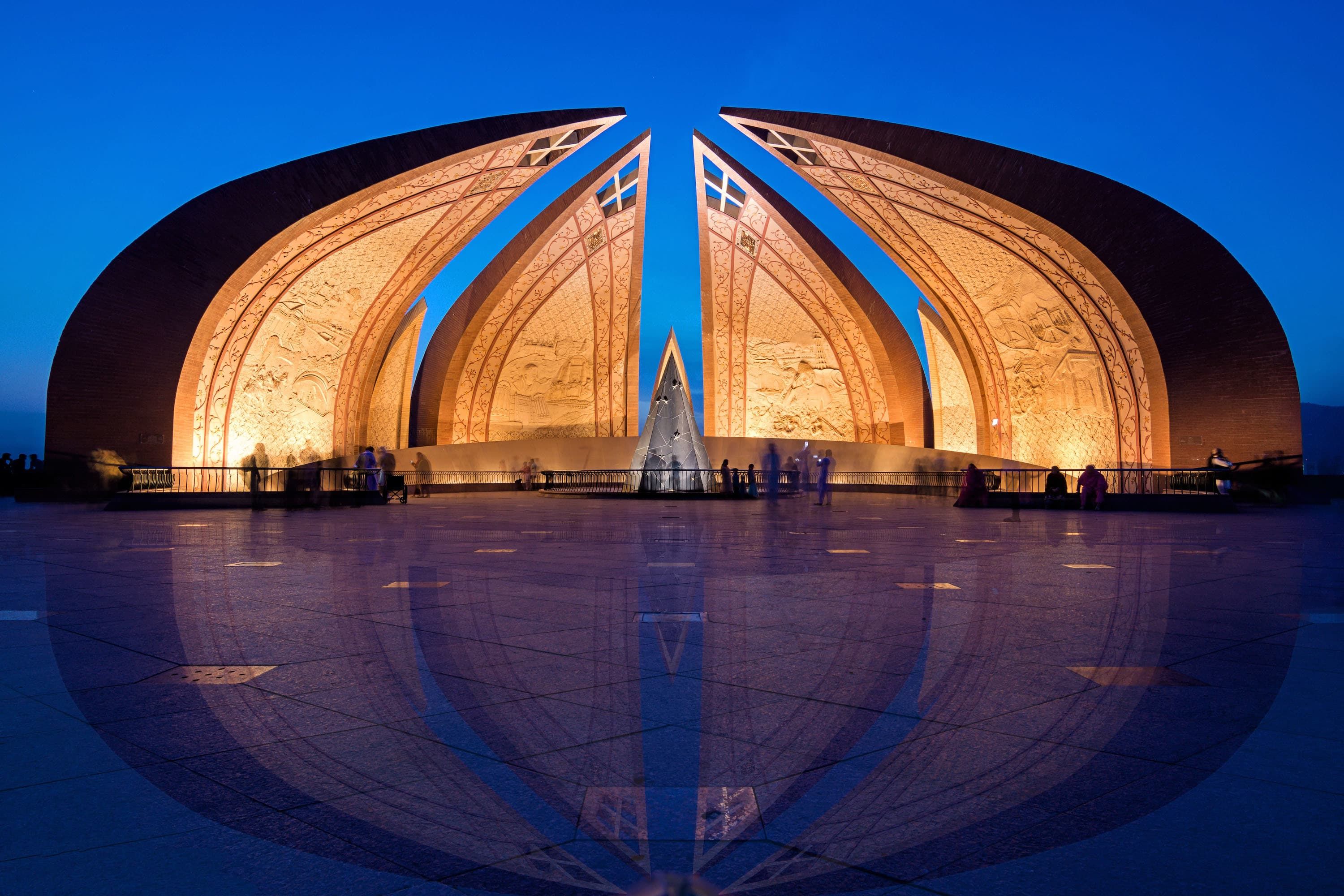 Pakistan Monument in Islamabad. — Photo by Muhammad Ashar