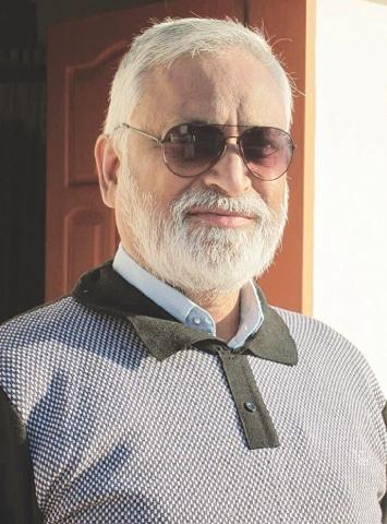 Former archaeology director Qasim Ali Qasim