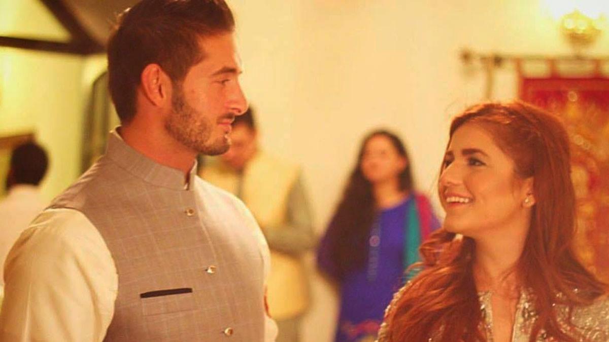 Momina with husband-to-be Ali Naqvi