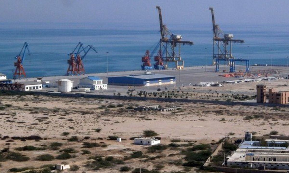 Development of Gwadar Port holds a pivotal role in the execution of CPEC | AFP