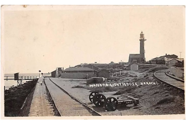 Manora in 1850s.
