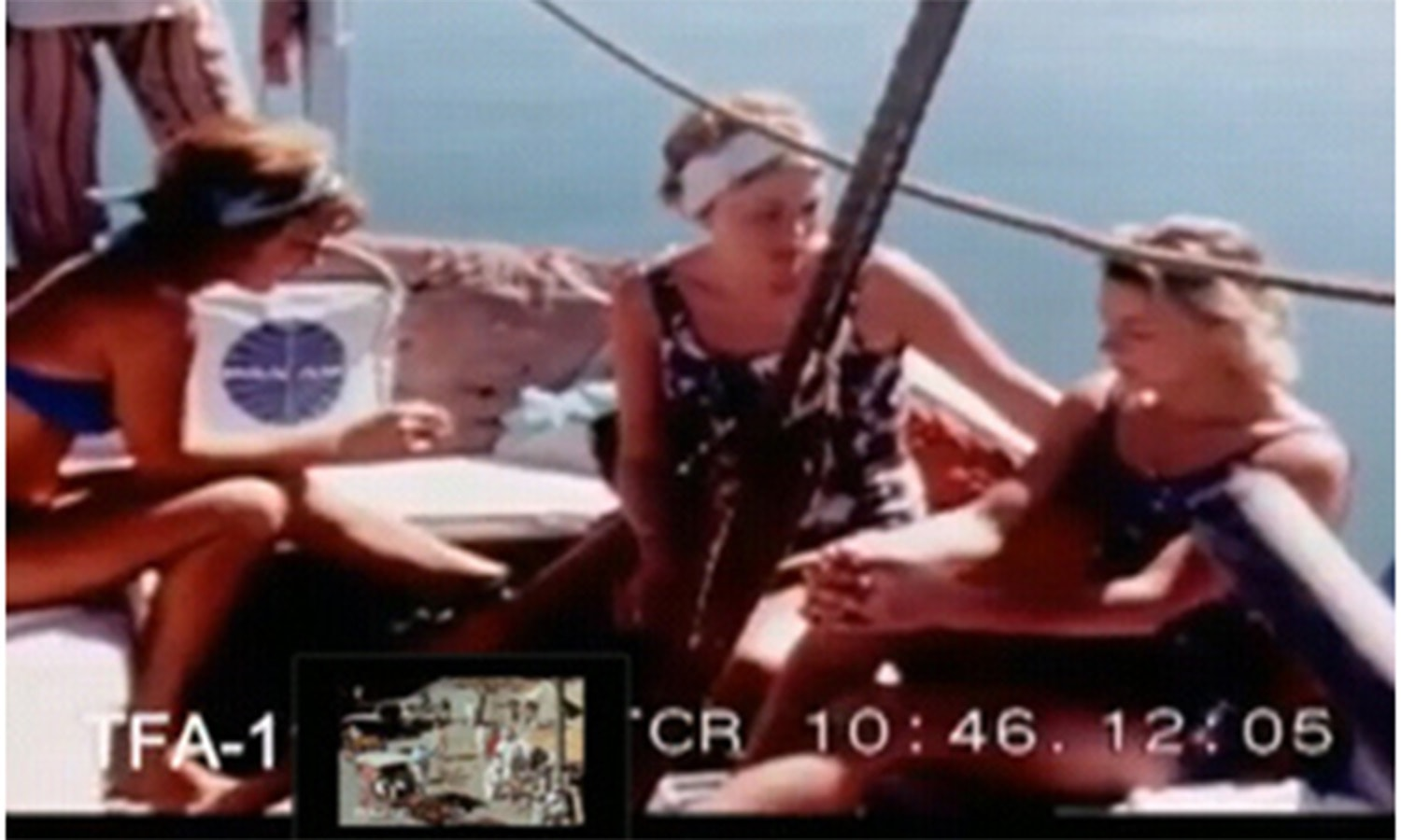 Tourists enjoy a boat ride in Keamari in the late 1960s.