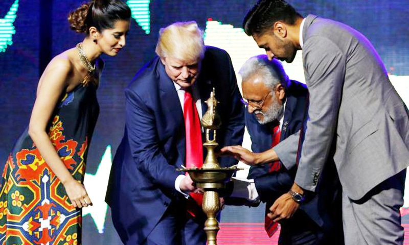 Trump pledges strong US ties with India if elected president