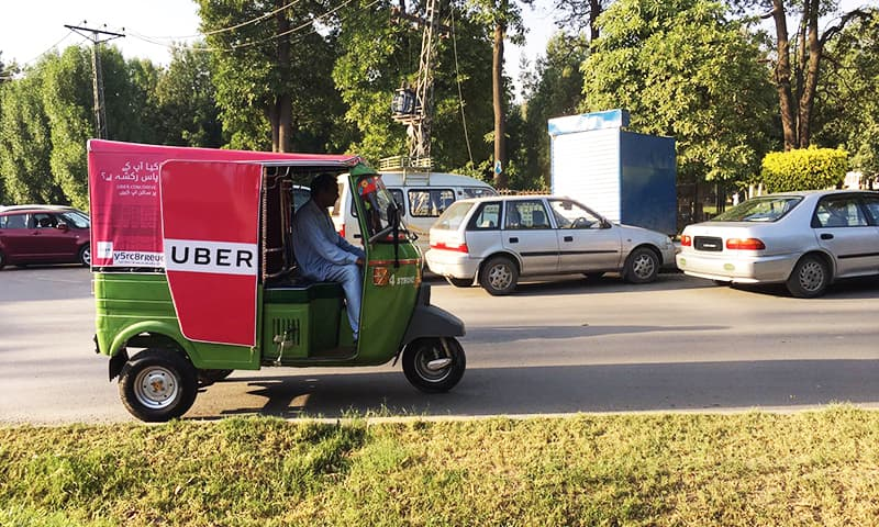 Uber launches rickshaw service uberAuto in Lahore