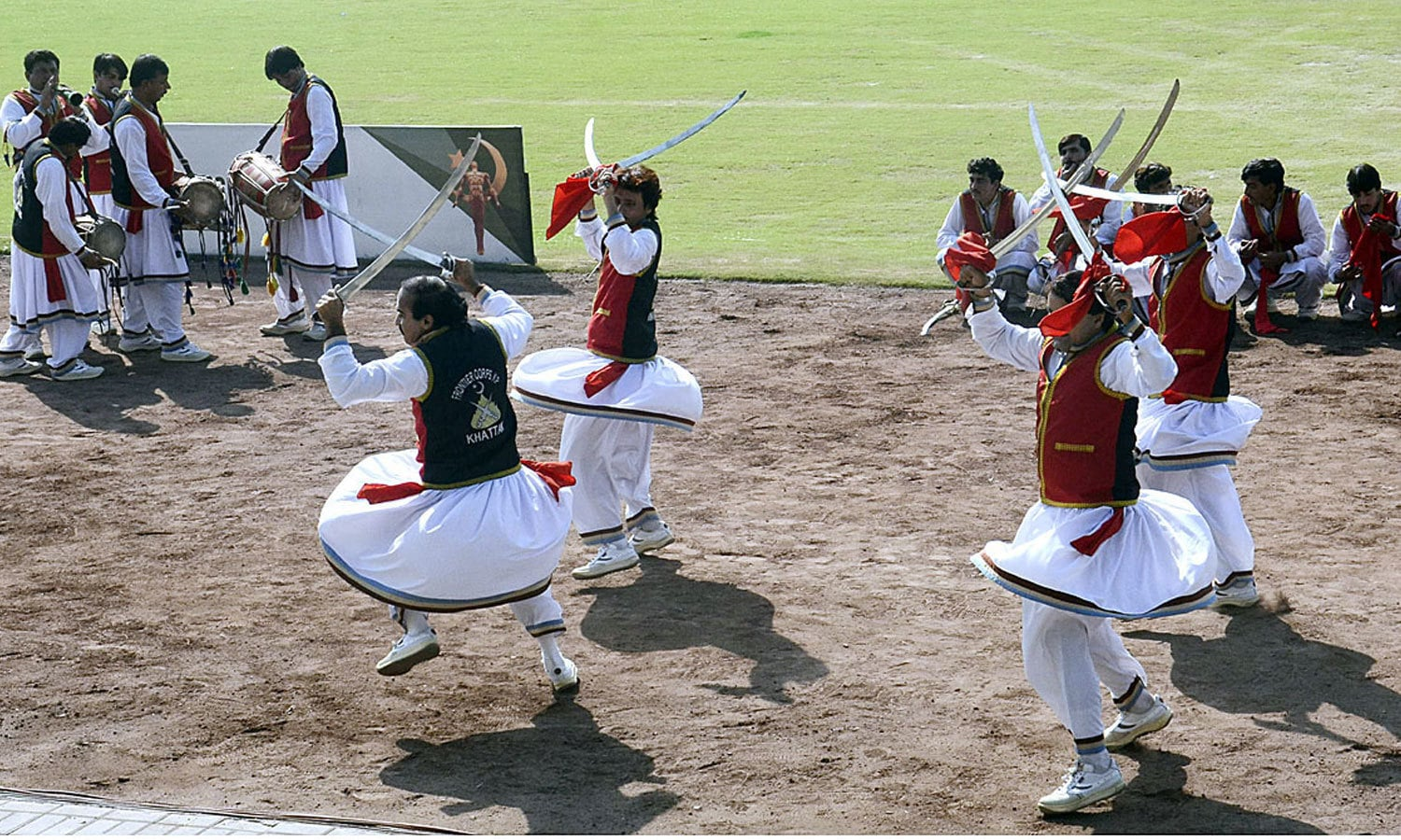A view of graceful opening ceremony of first ever Physical Agility Combat Efficiency System. ─APP
