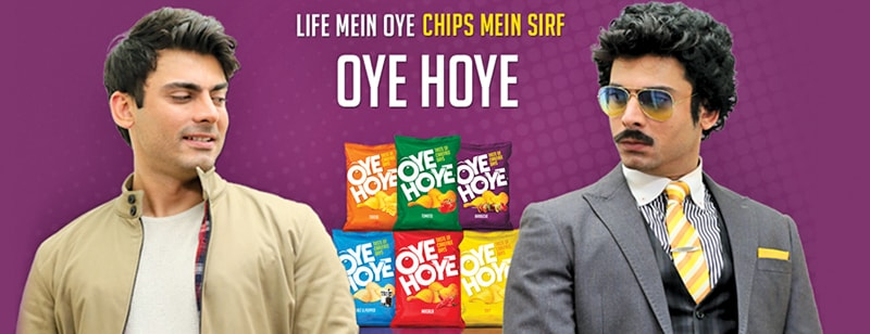 After Lays launched their 'Pass a Smile' campaign to spread happiness, Oye Hoye took the avant garde route with the 'Oochi vs Fawad Khan' theme.