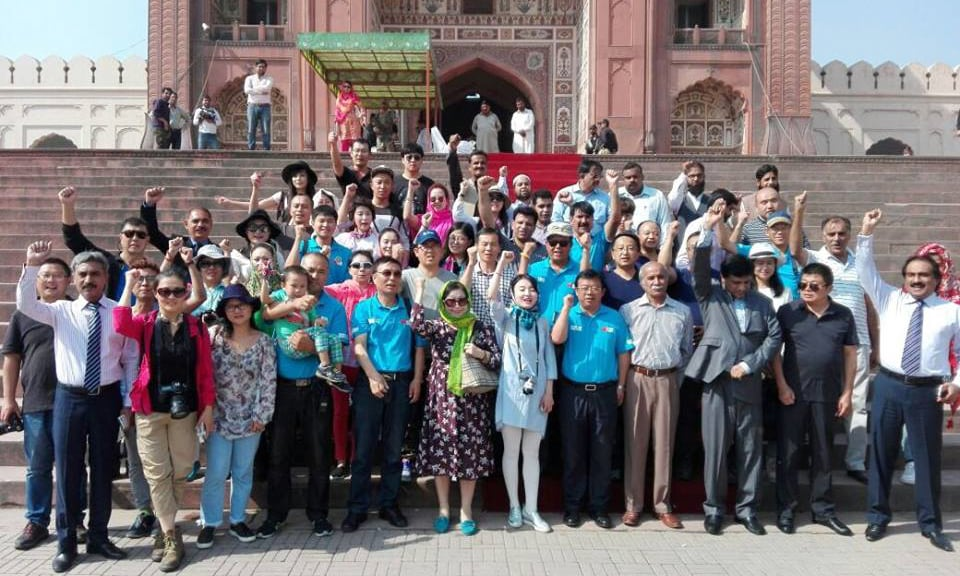 Participants of the rally visited various cultural and historical places. —Photo courtesy Facebook pages