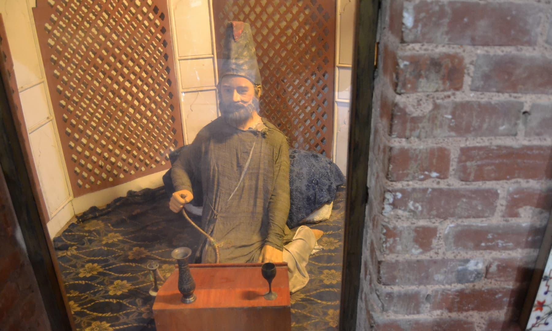 مجسمہ غالب — تصویر ذیشان احمد