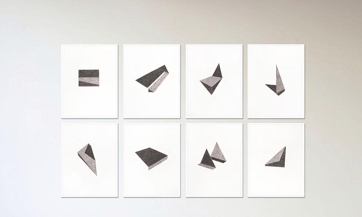 Muzzumil Ruheel's *Morphed*   Courtesy Grosvenor Gallery