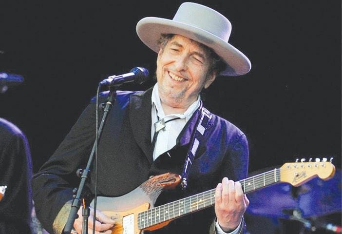 Bob Dylan. — AFP