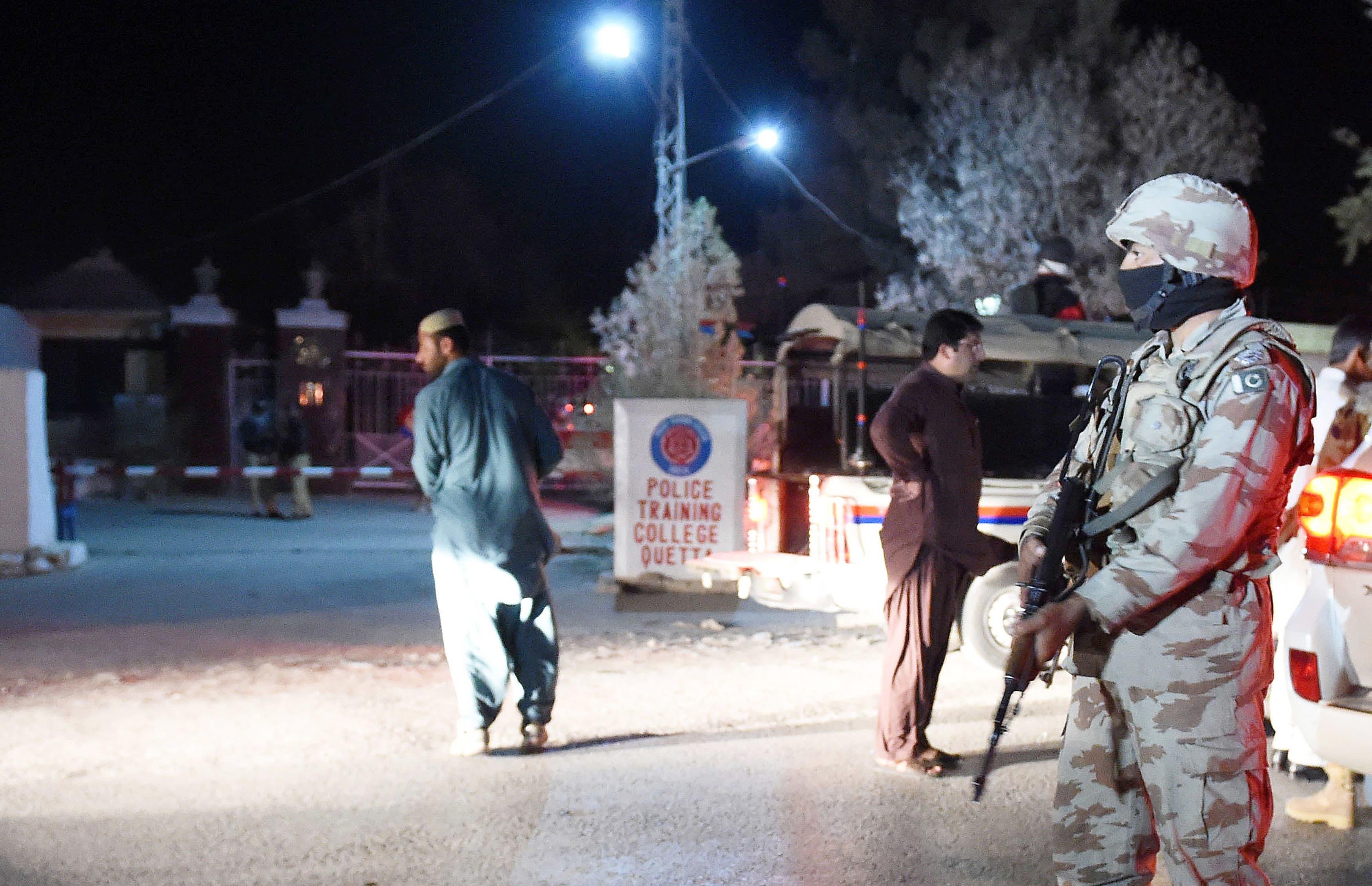 Terrorists storm police training college in Quetta