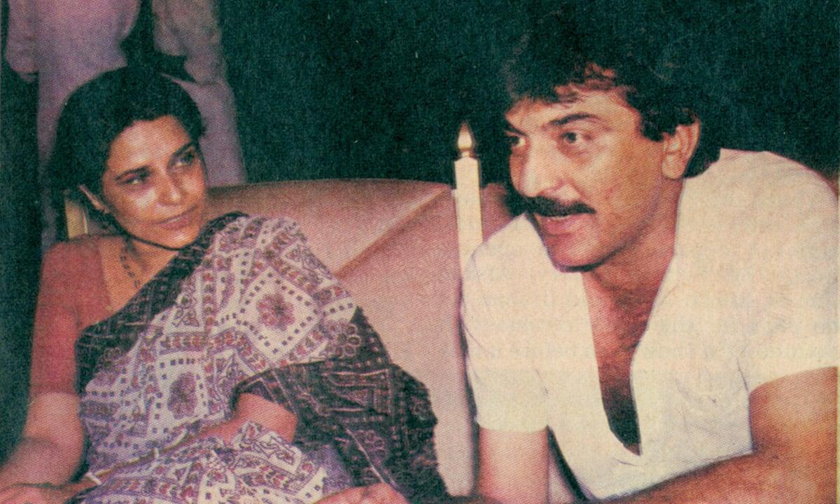 Before the show and the showdown: Uzma Gilani and Abid Ali