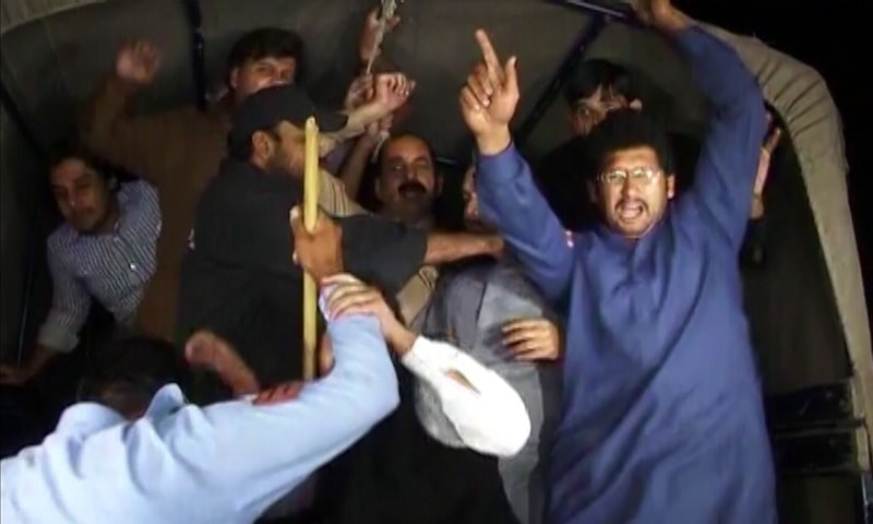 Image result for پی ٹی آئی کارکنوں کی گرفتاری
