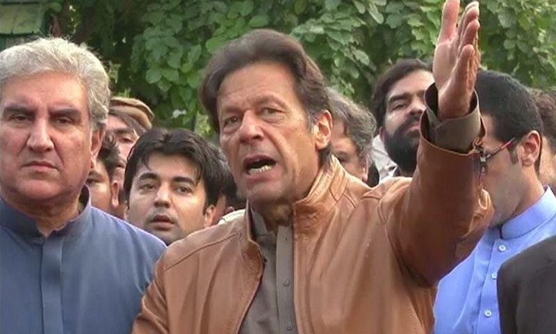 مجھے کس قانون کے تحت نظربند کیا گیا،عمران خان کا سوال