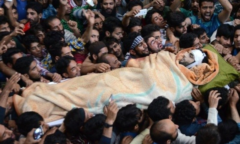I'll never forget the day Burhan Wani was killed