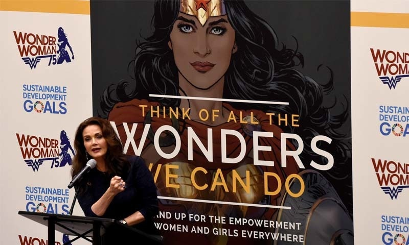 The Wonder Woman's appointment was announced at a ceremony at the UN attended by the UN Secretary General Ban Ki Moon.