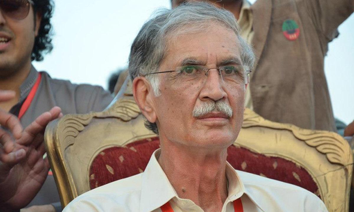 Pervez Khattak, Chief Minister of Khyber Pakhtunkhwa | dawn.com