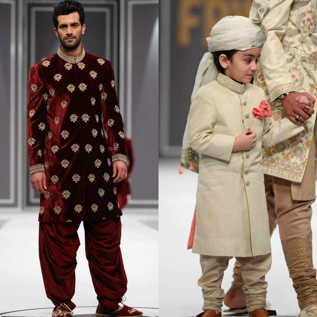 Nauman Arfeen's menswear, like always, was retail friendly and easy on the eyes