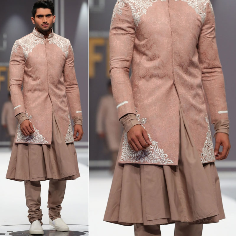Deepak and Fahad's collection at Fashion Week 2016. Photo: Movie Shoovy.