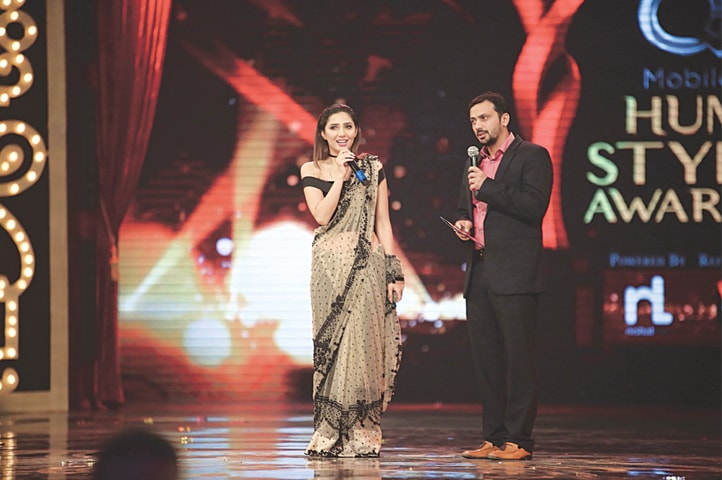 Mahira Khan delivered an emotional acceptance speech where she thanked her country