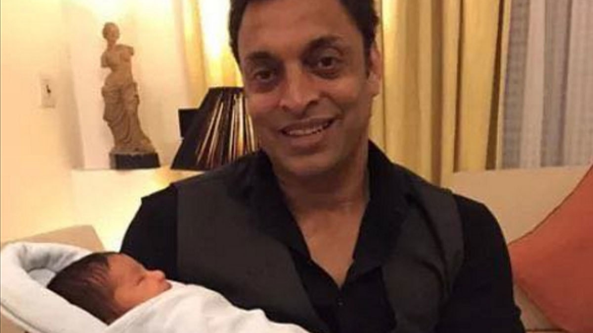 Did you know? Shoaib Akhtar is now a proud dad