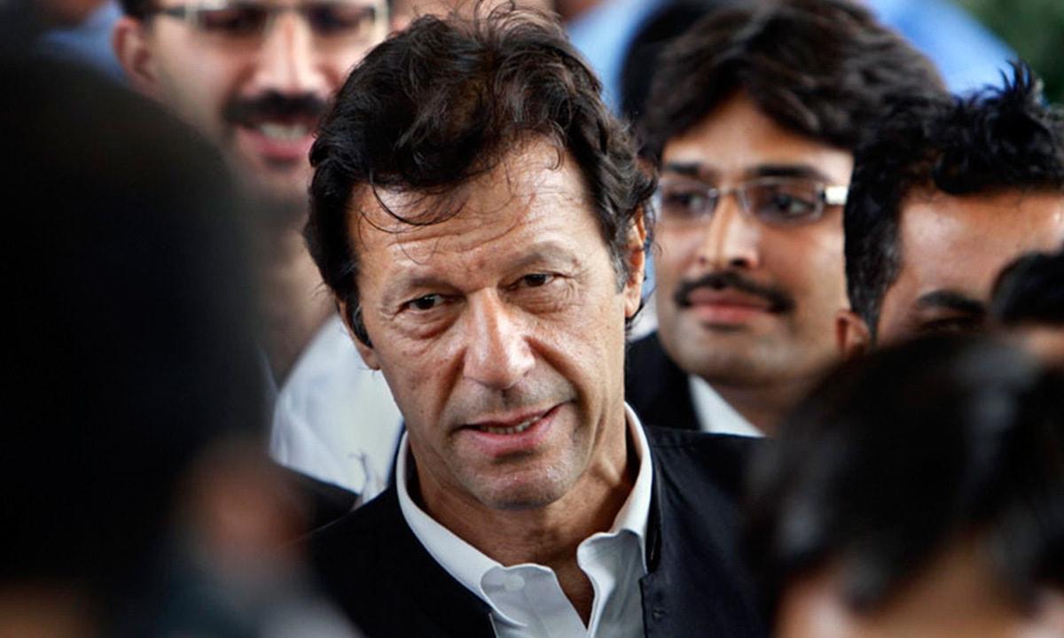 PTI Chairman Imran Khan   AP