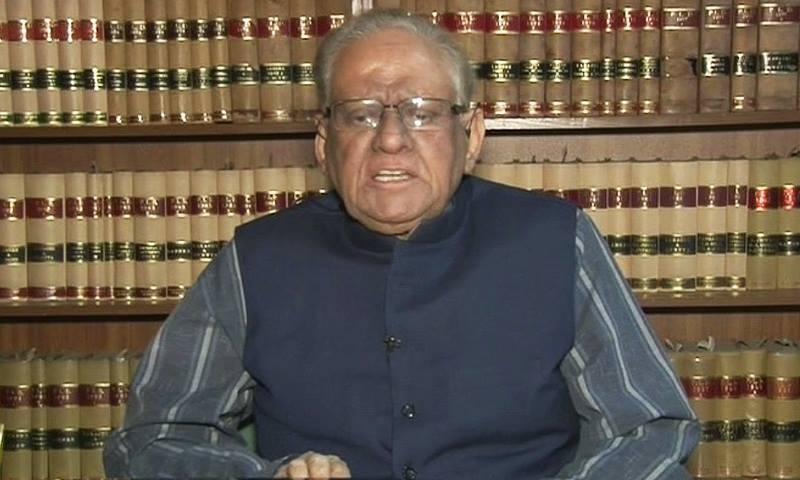 Former chief justice of Pakistan, Justice Saeeduz Zaman.