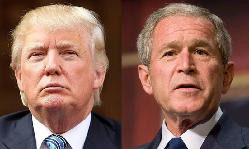 Trump is more dangerous than Bush