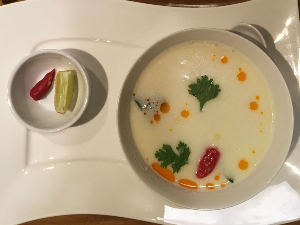 Tom Kha Gai was absolutely delicious and a perfect kickstarter to the meal.
