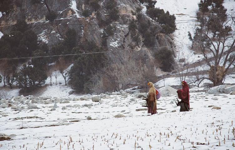 برفباری میں سیاح یہاں کا رخ کرتے ہیں