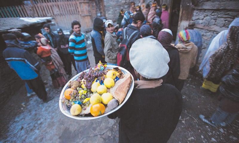 خصوصی طور پر روایتی کھانے تیار ہوتے ہیں