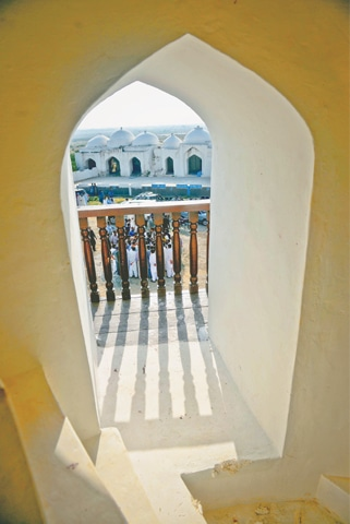 A view from inside the Pir Patho tower -Photos by Fahim Siddiqi / White Star
