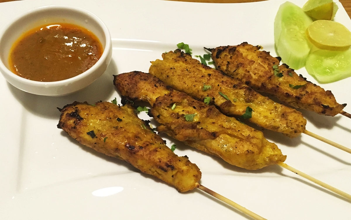 The Chicken Satay failed to impress.