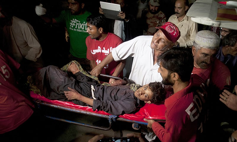 At least 52 killed, 102 injured in blast at Khuzdar shrine