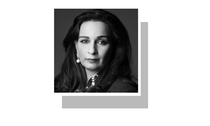 The writer was formerly Pakistan's ambassador to the US. She is a member of the Senate and president of the Jinnah Institute.