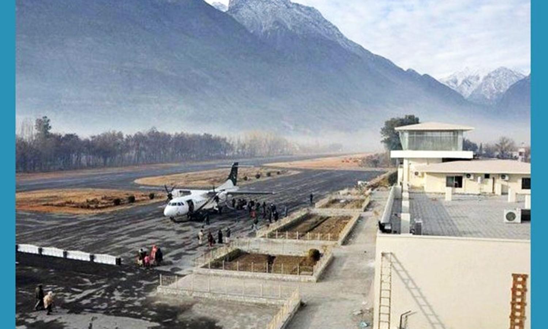 Gilgit Airport (Pic: Hamari Web).
