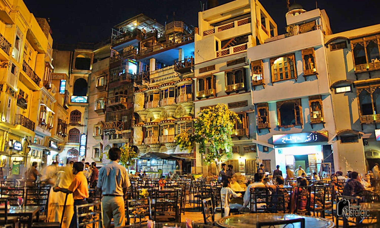 Lahore's Anarkali Bazaar. (Pic: Khurram A.)