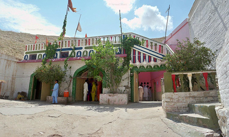 A Hindu temple in the Sindh city of Sukkar.