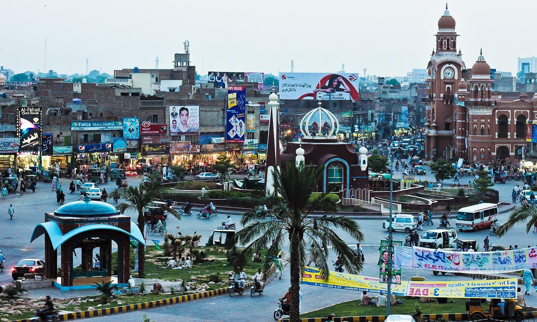 Multan: Punjab's 'city of Sufi saints and shrines'. (Pic: Junaid Shahid)