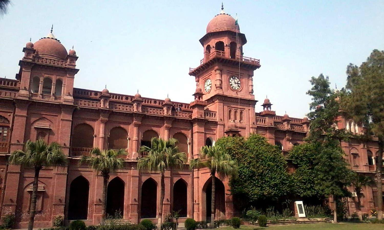 The University of Punjab, Lahore.