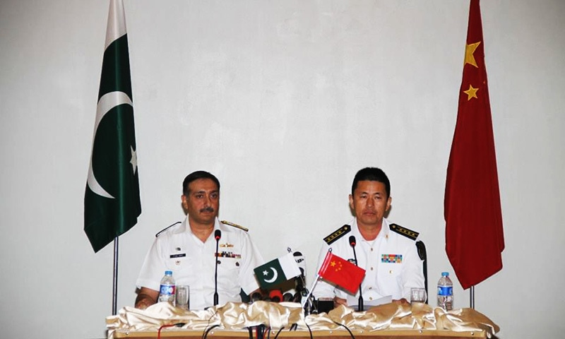Navies of Pakistan, China begin their fourth joint exercise