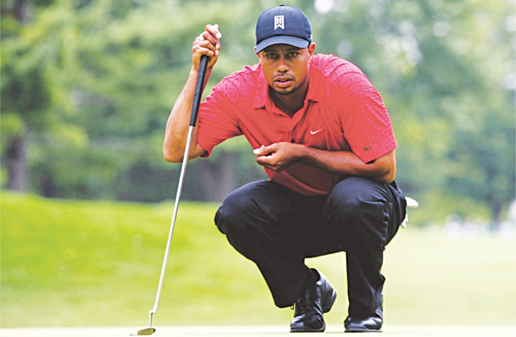 Tiger Woods always played his final round in a red shirt