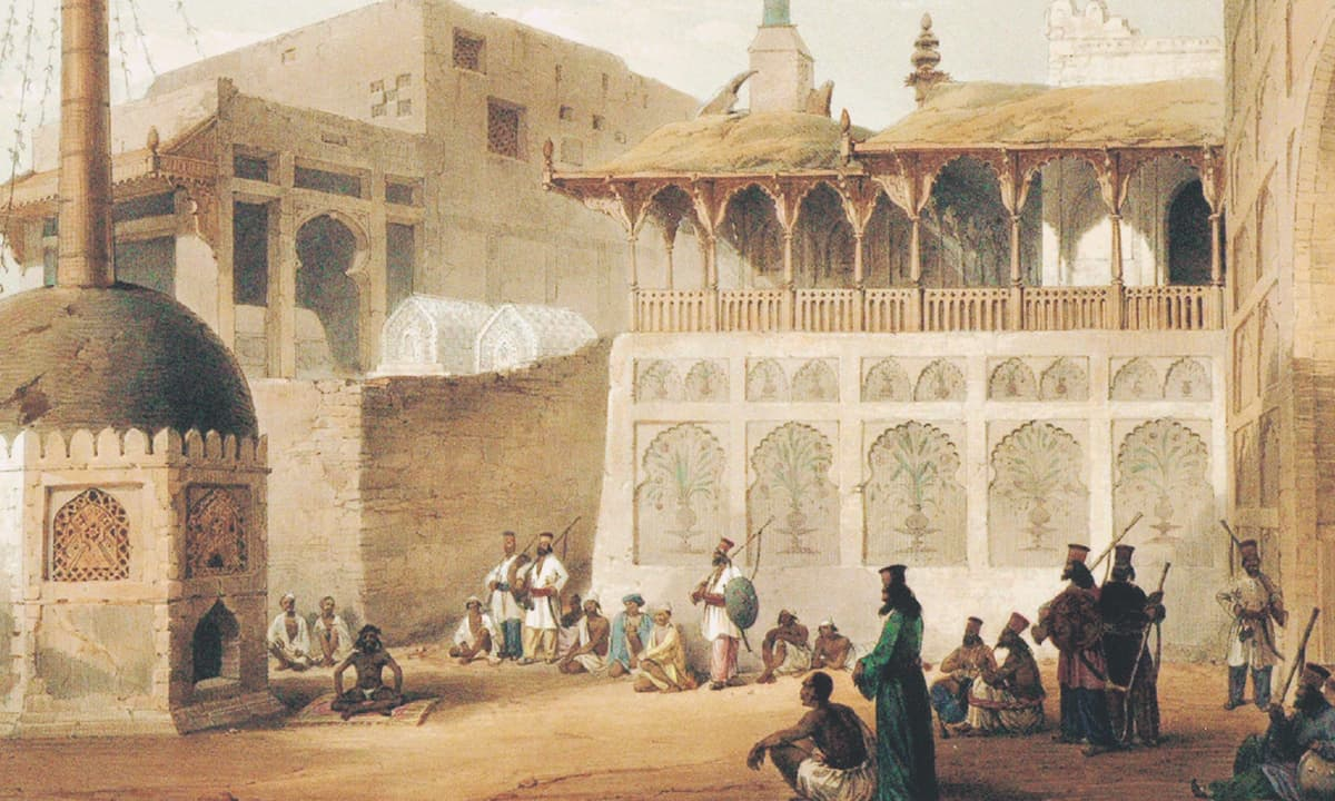 A lithograph from the *Sketches in Scinde* series, based on the drawings of Lietenant William Edwards | *Karachi Under The Raj: 1843-1947*