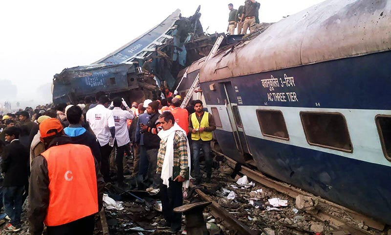Over 100 killed in Indian train derailment disaster