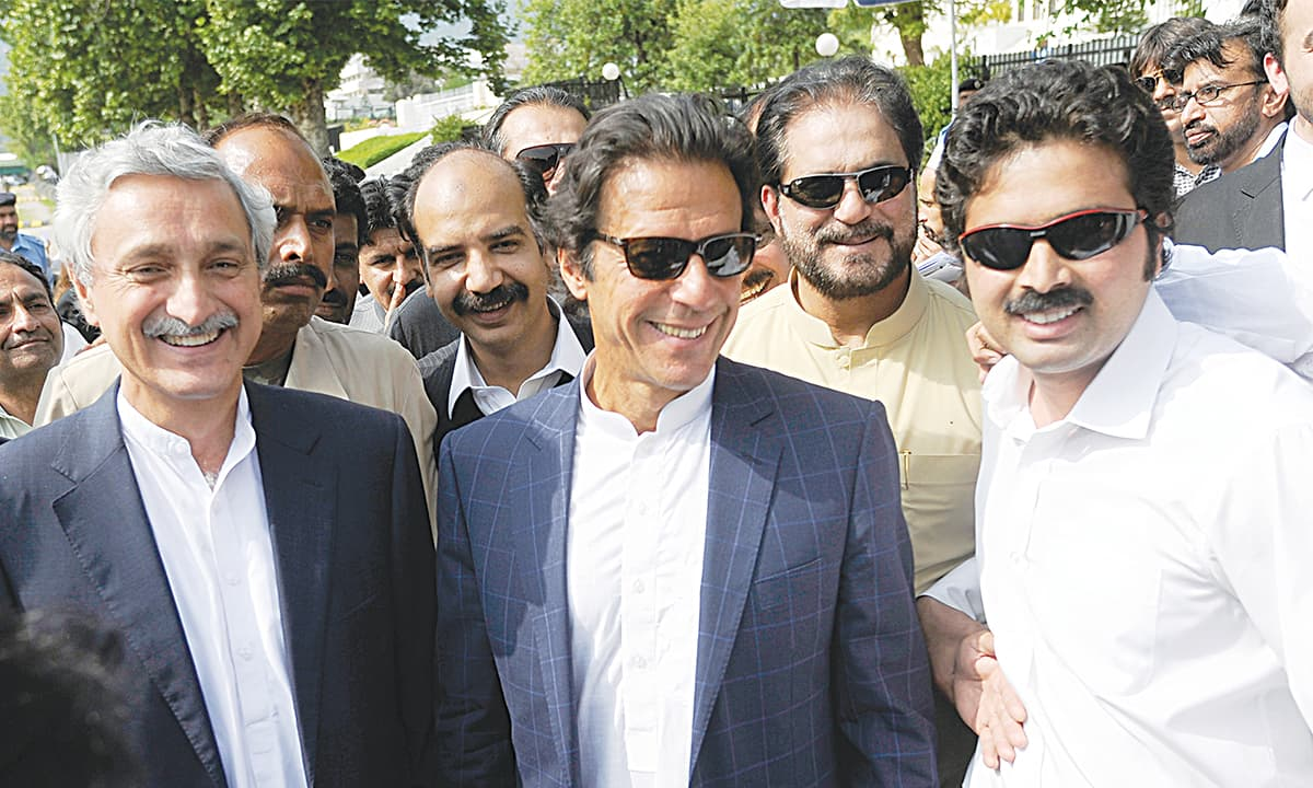 Imran Khan appears at the Supreme court on April 16, 2015 | Tanveer Shahzad, White Star