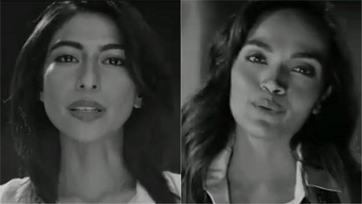 Meesha Shafi and Aamina Sheikh urge viewers to 'beat me' in this powerful new video