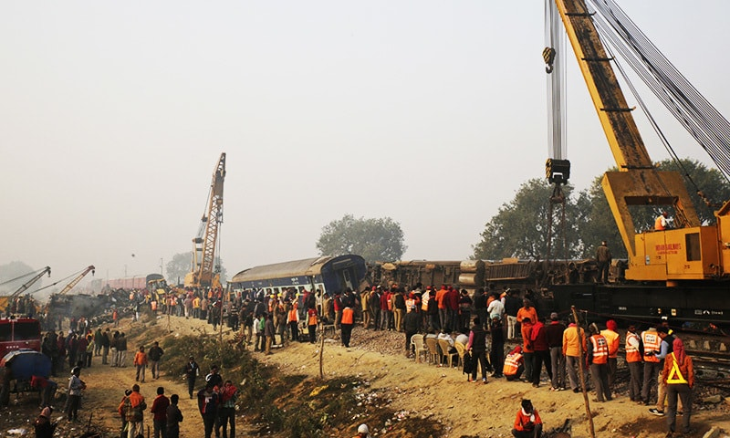 India crash raises concerns of underinvestment in railway as toll hits 142